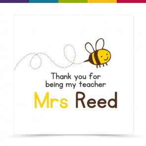 Mirabel Thank You Teacher Card