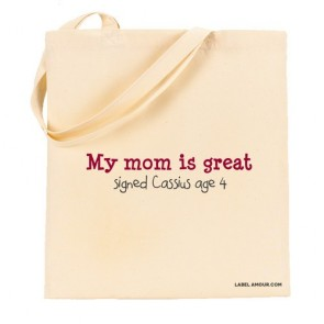 Mom Is Great Tote Bag