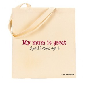 Mum Is Great Tote Bag