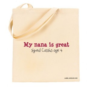 Nana Is Great Tote Bag