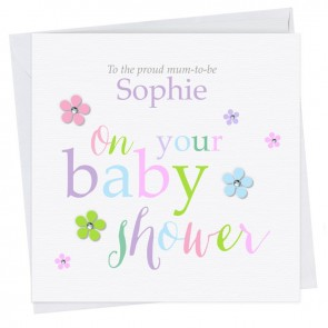 Olivette Baby Shower Mixed I Card