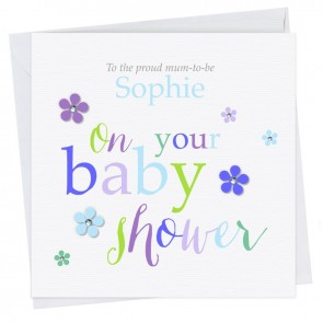 Olivette Baby Shower Mixed II Card