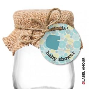 Payne Baby Shower Hang Tag