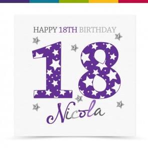Robina Happy Birthday Age Card