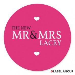 Sandison Wedding Label