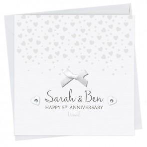 Sarah Anniversary Card