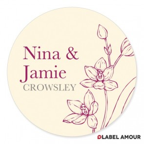 Slater Wedding Label