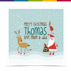Thomas Merry Christmas Card