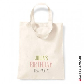 Thompson Birthday Tote Bag