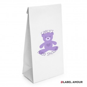 Woods Baby Shower Paper Bags