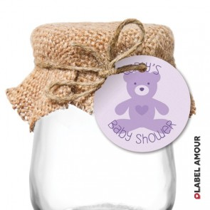 Woods Baby Shower Hang Tag
