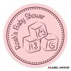 Lawson Baby Shower Label