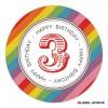 Ludkin Birthday Label