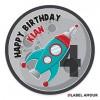 Pace Birthday Label